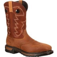 Rocky Original Ride Steel Toe Waterproof Western Boot, , medium