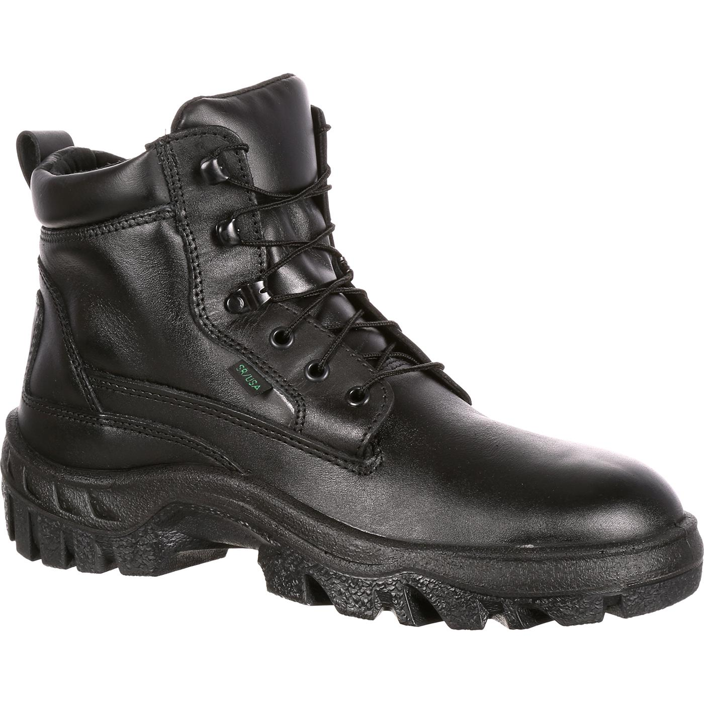 Rocky Tmc Postal Approved Black Duty Boots Fq0005019