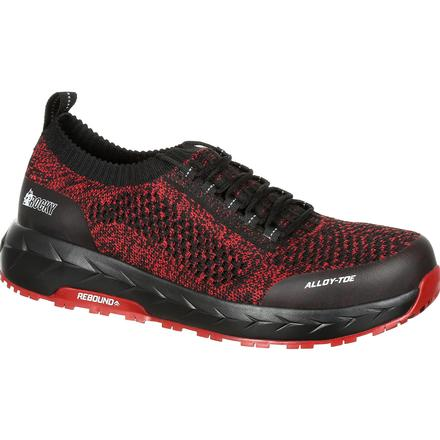 Rocky WorkKnit LX Alloy Toe Athletic Work Shoe