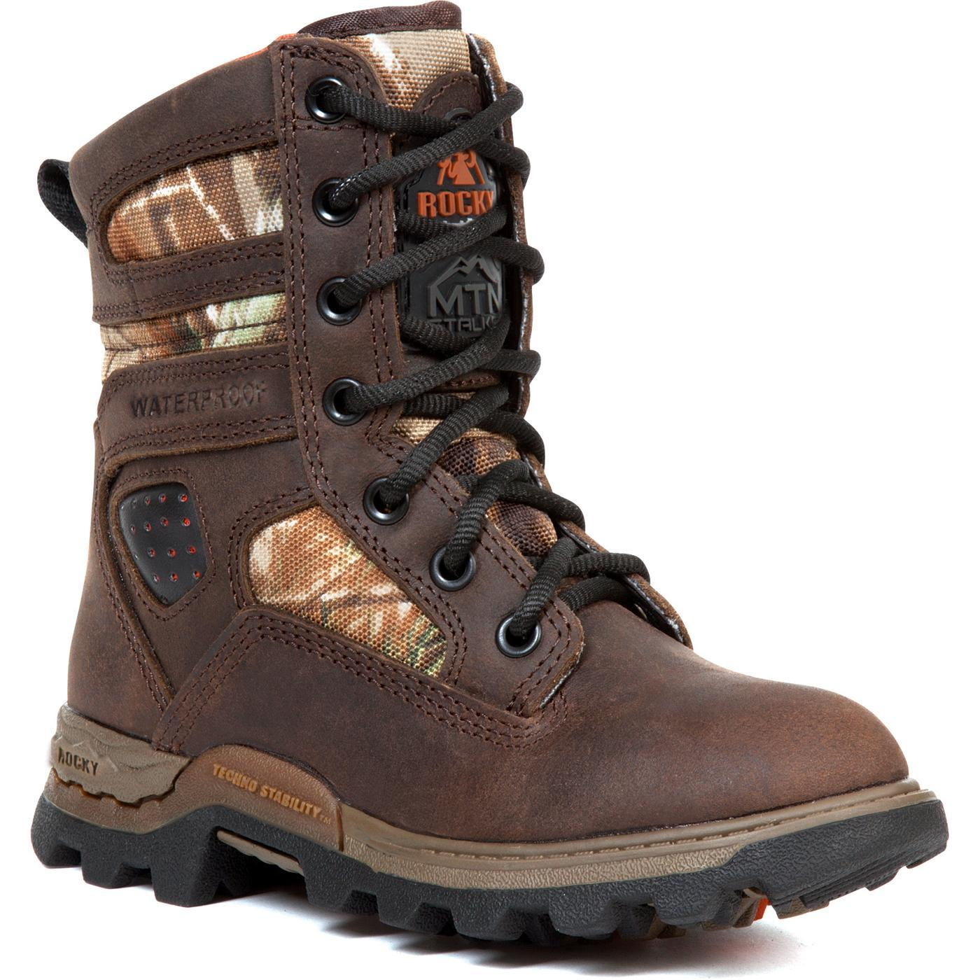 Rocky Kid's Mountain Stalker Waterproof Insulated Boot -Style #3684