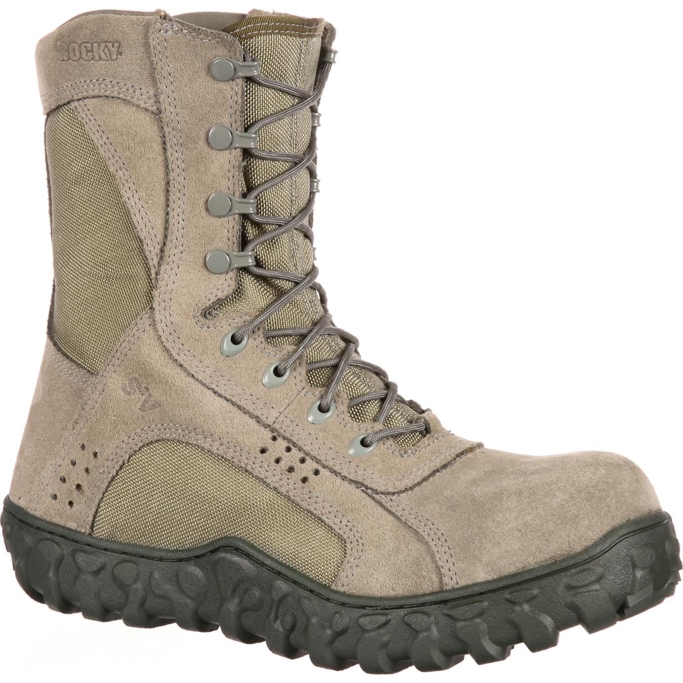 381fc00887a Rocky S2V Composite Toe Tactical Military Boot