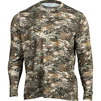 Rocky Venator Long-Sleeve Performance Tee Shirt, Rocky Venator Camo, medium