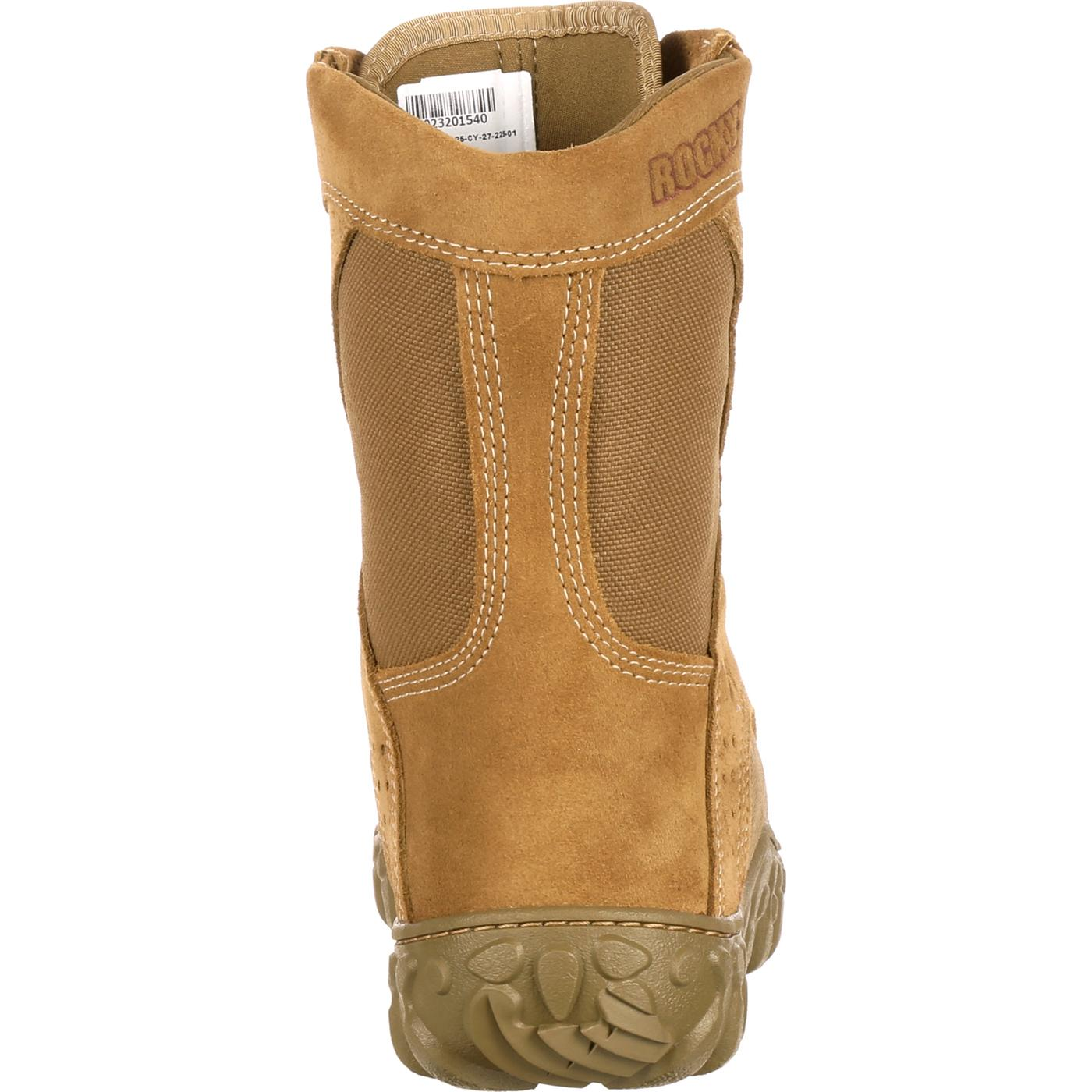 Rocky S2V Military Duty Boot. Coyote Brown. FQ0000104