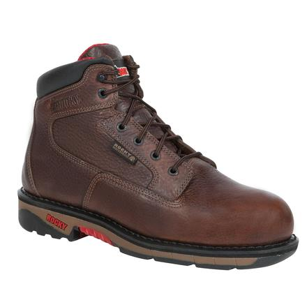 Rocky Ride Steel Toe Waterproof Work Boot, , large