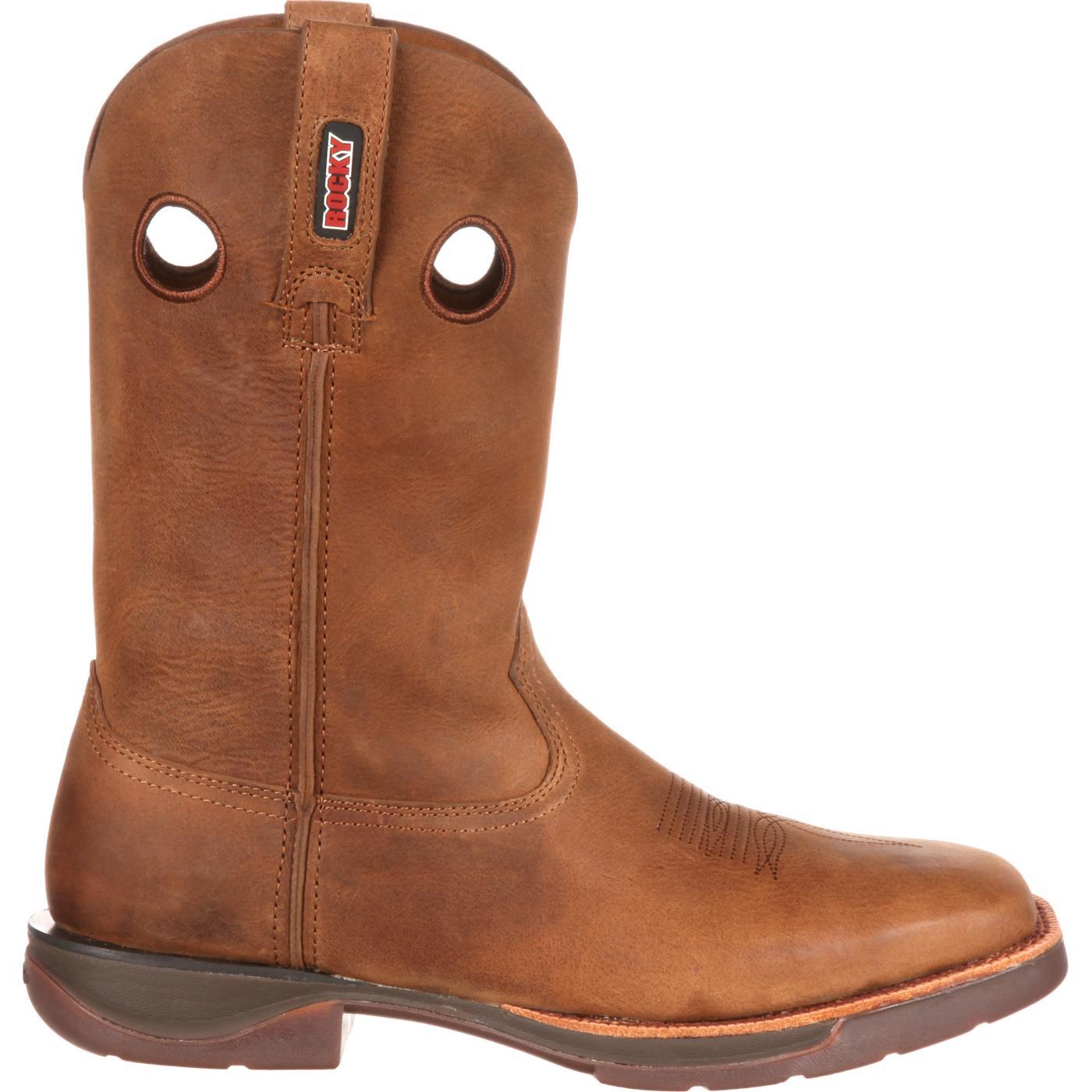 Rocky LT: Men's Light Roper Western Boot - style #RKW0142