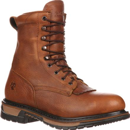 Rocky Original Ride Lacer Waterproof Western Boots, , large
