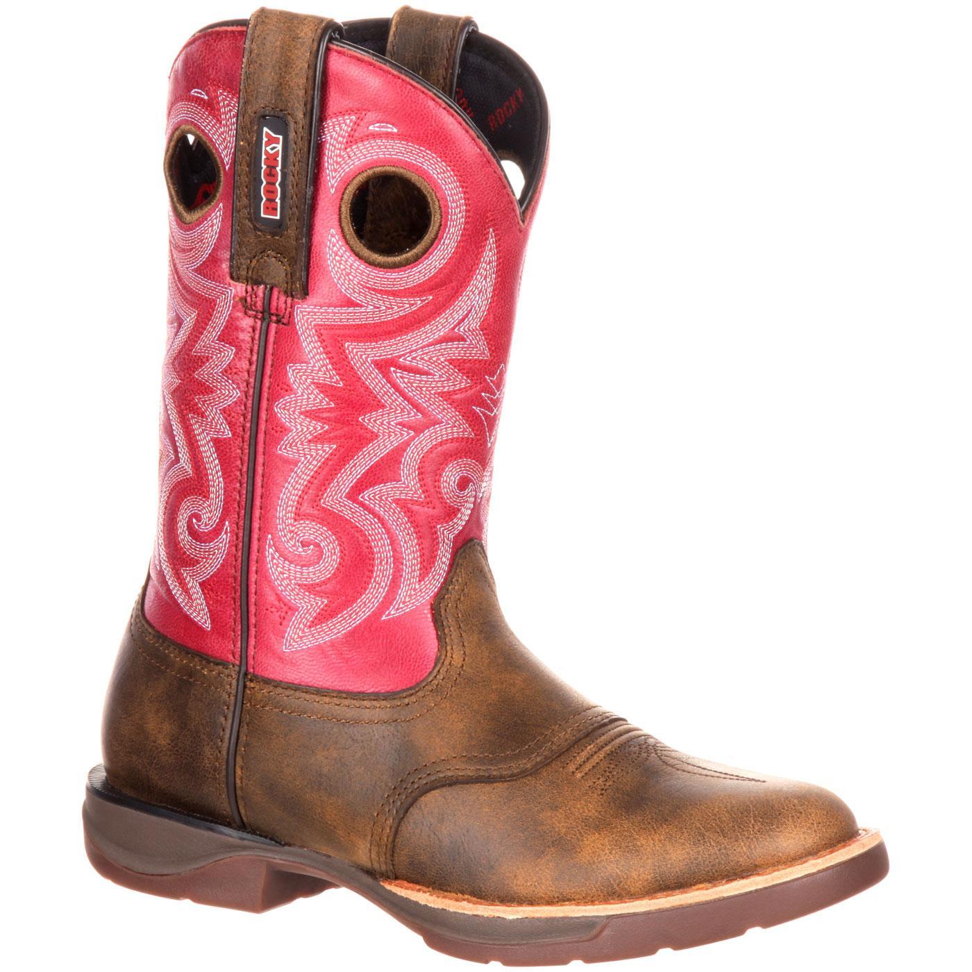 Rocky LT Women's Saddle Western Boot, , large