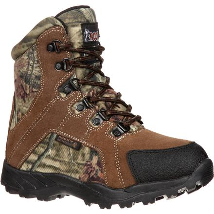 Rocky Kids' Hunting Waterproof 800G Insulated Boot, , large