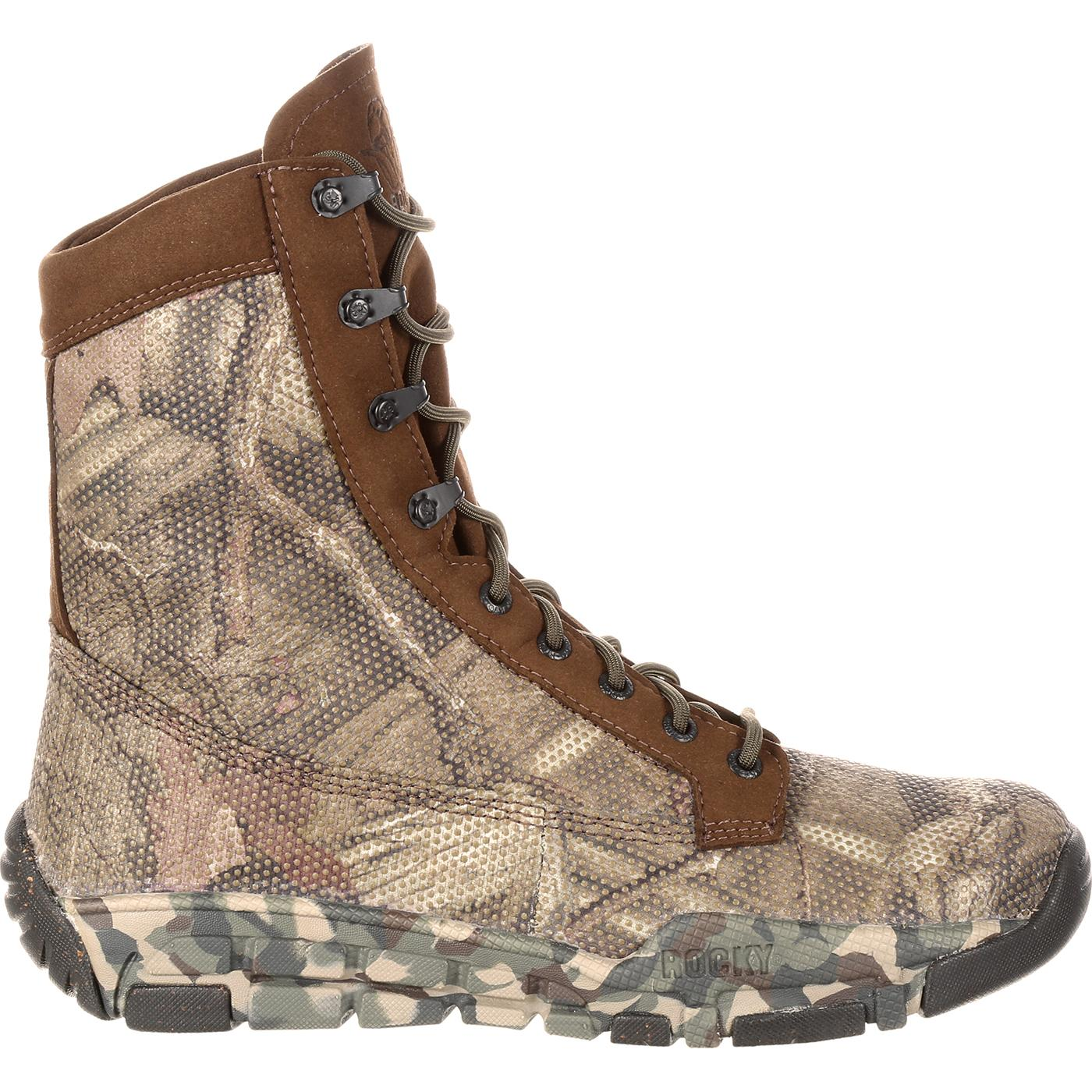 74525a4d48b Rocky Camo Hunting Boot