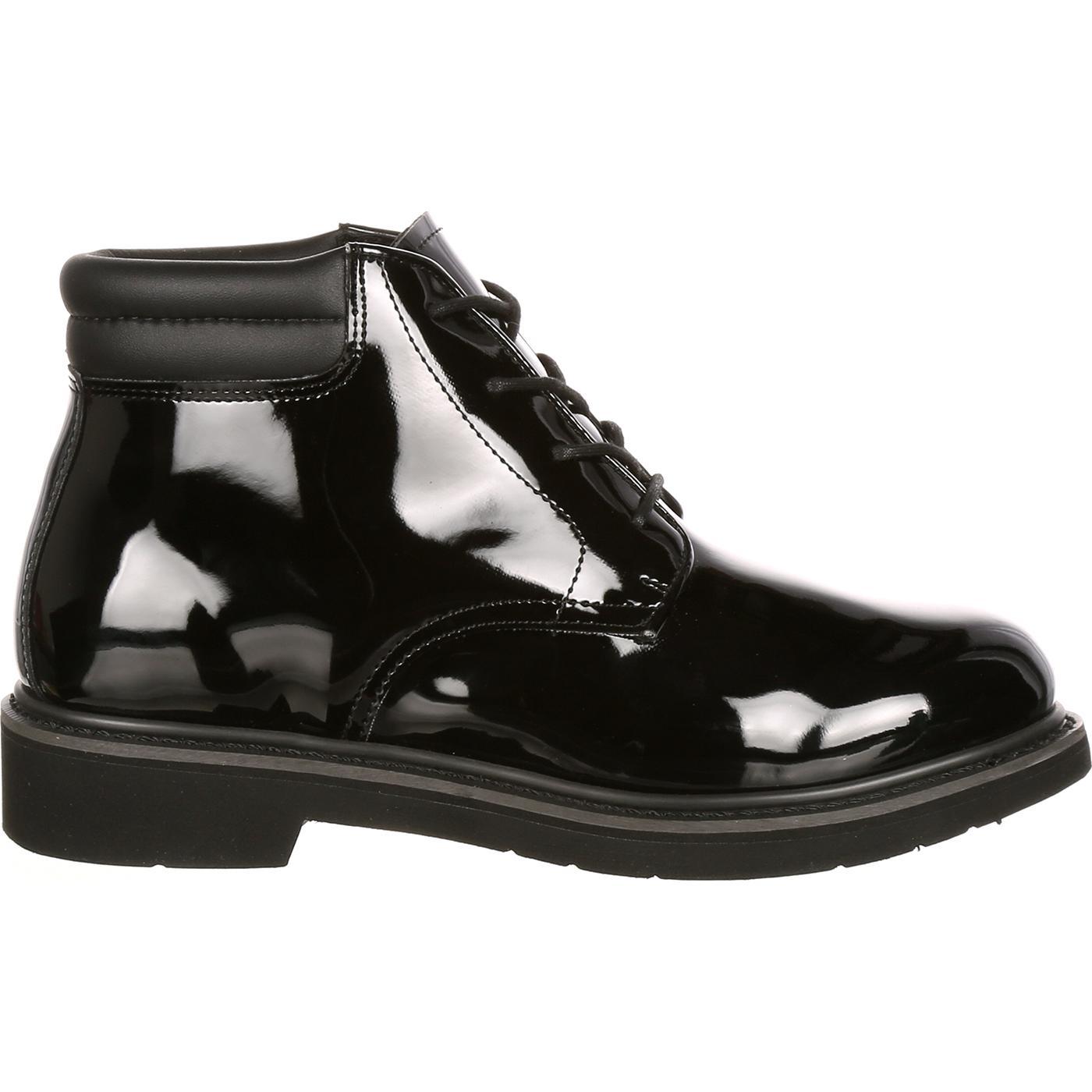 5624d36332f Rocky Dress Leather High Gloss Chukka