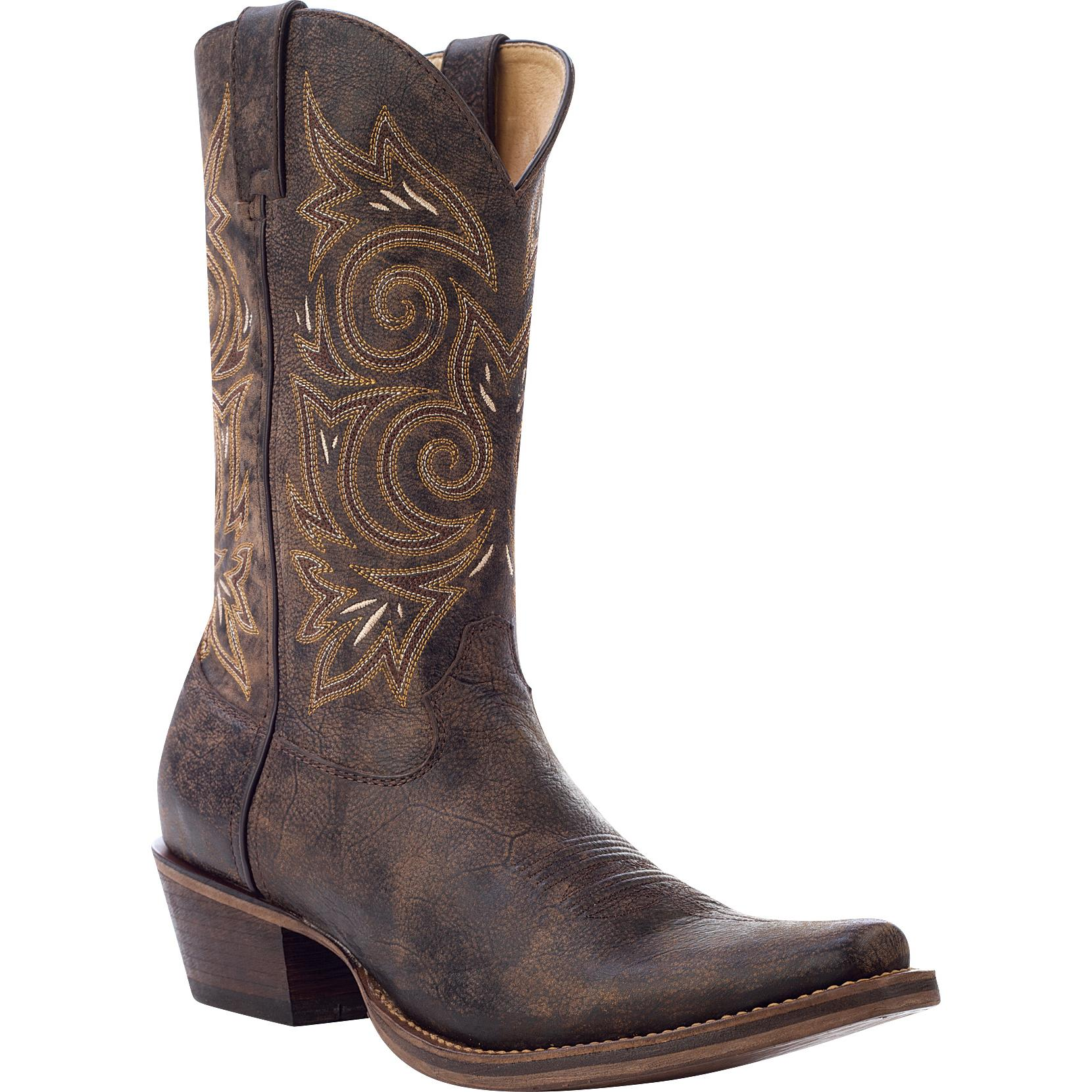 bf4a9716d0f Rocky HandHewn - Snip Toe Western Boot