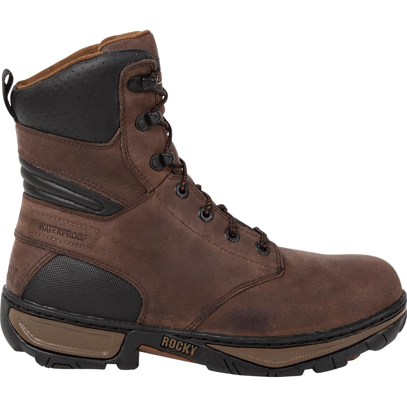 8 Quot Rocky Forge Waterproof Insulated Work Boots Rkyo020