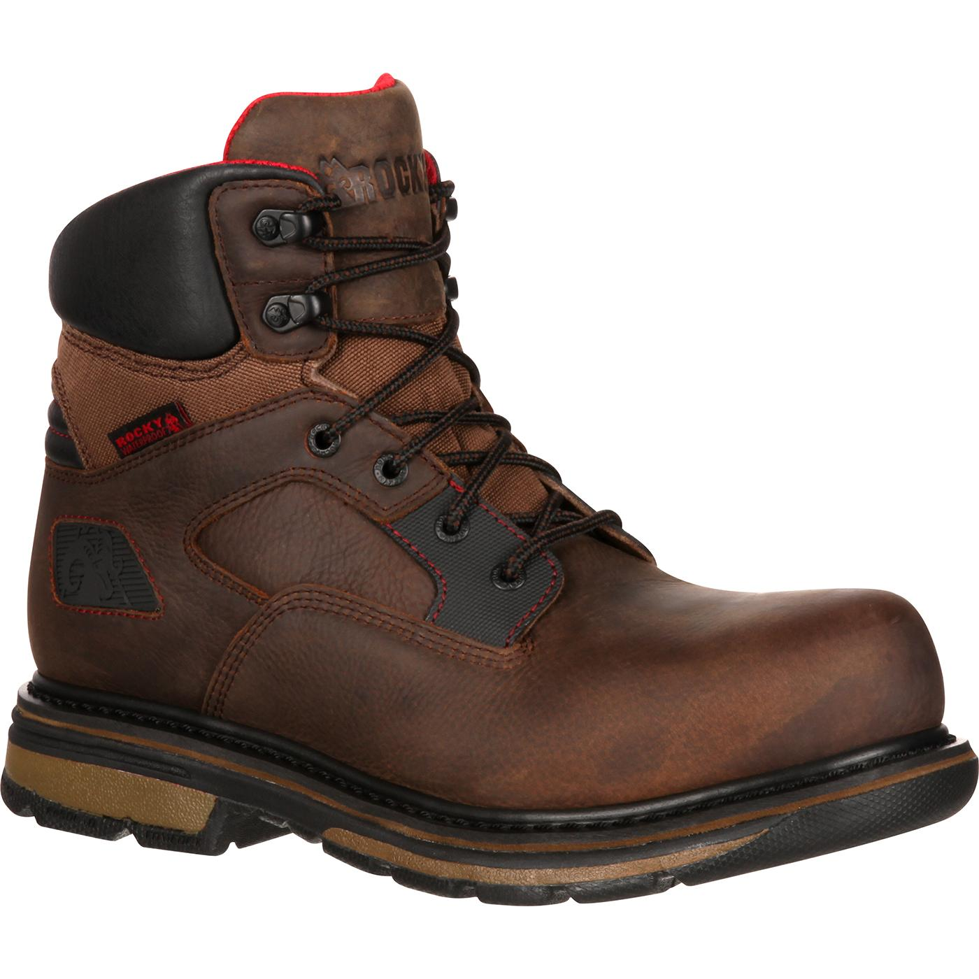 Rocky Hauler Composite Toe Waterproof Work Boot, RKK0128