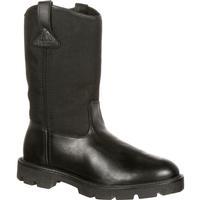 Rocky Boot Pull-On Warden Wellington Duty Boot, #RKYD01611