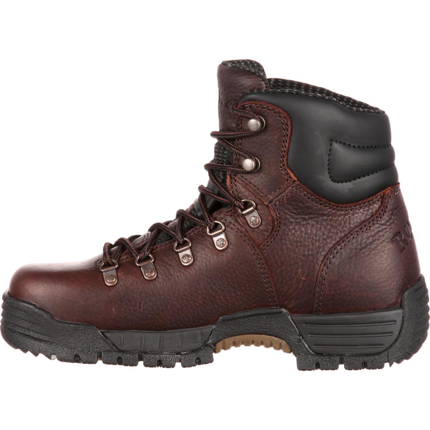 ddaf8b21bb8 Rocky Women's Mobilite Steel Toe Waterproof Work Boot