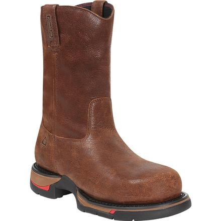 Rocky Long Range Aluminum Toe W'proof Wellington, , large