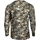 Rocky Camo Long-Sleeve Performance Tee Shirt, Rocky Venator Camo, small