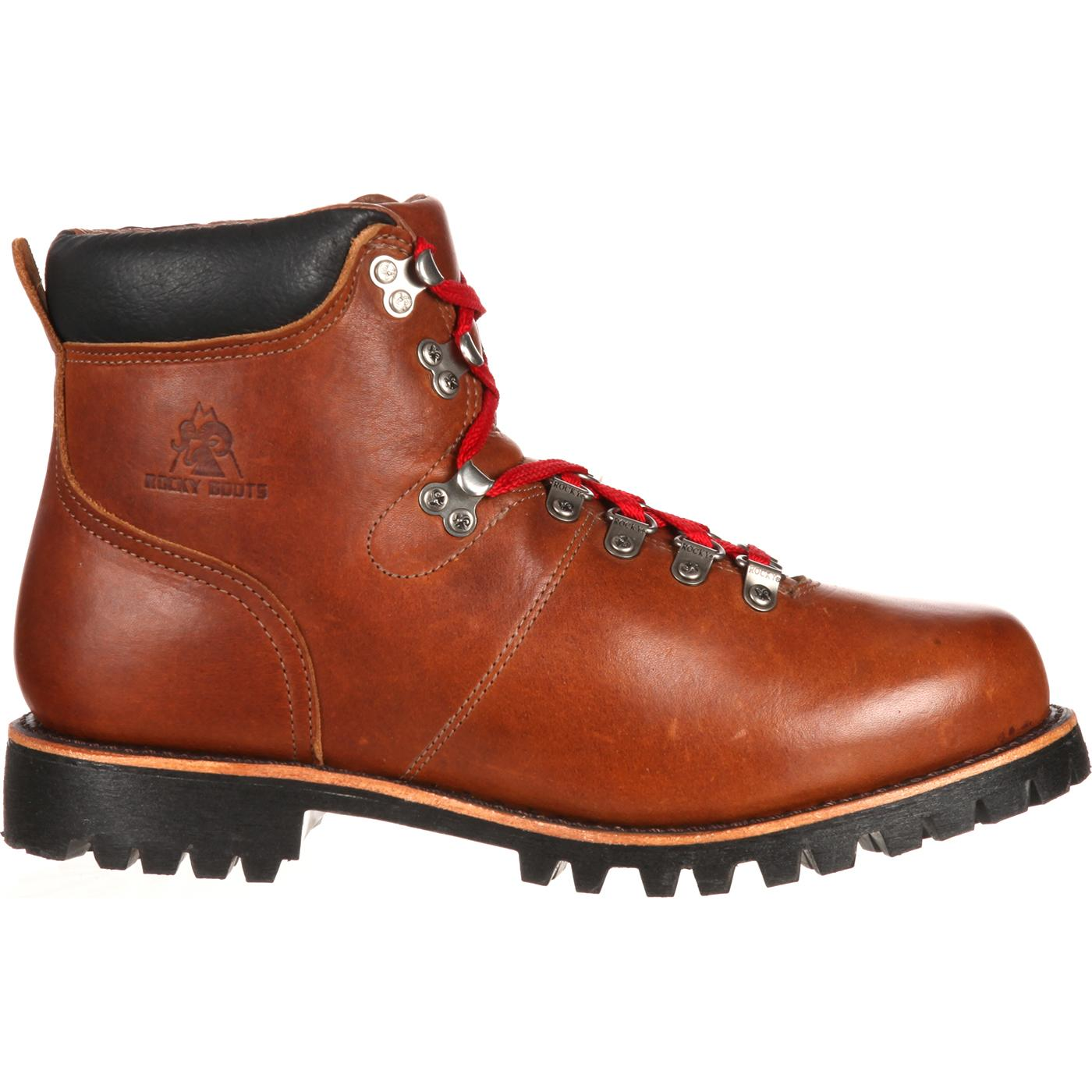 Rocky Boots Traditional Heritage Throwback Red Laces Hiker