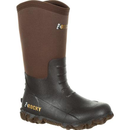 Rocky Big Kids' Core Rubber Outdoor Boot, , large