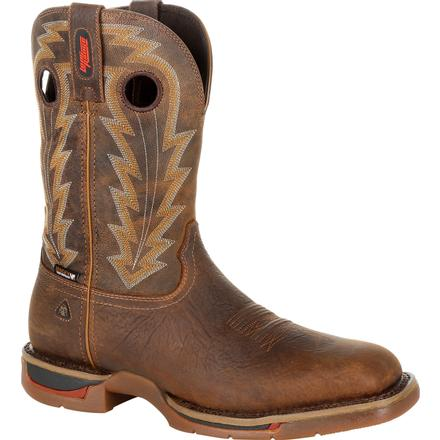Rocky Long Range Composite Toe Waterproof Western Boot