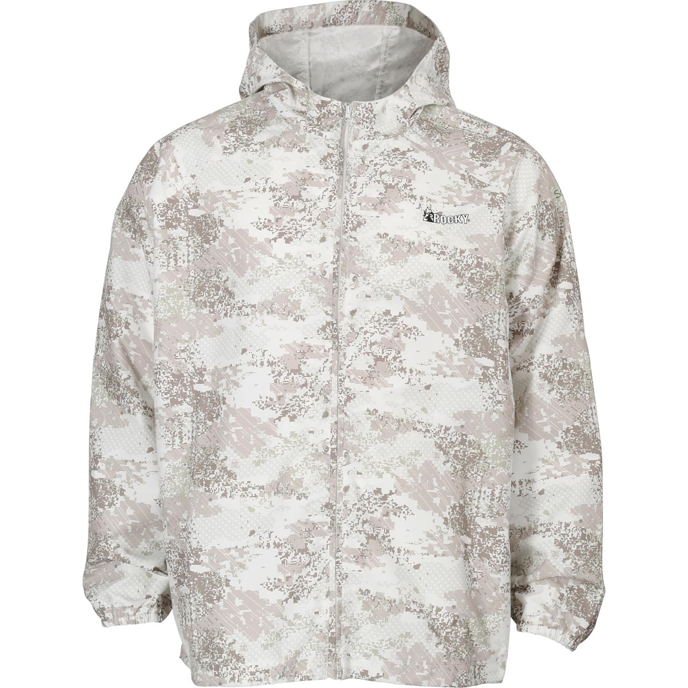 Rocky Stratum Men S Waterproof Emergency Snow Camo Jacket