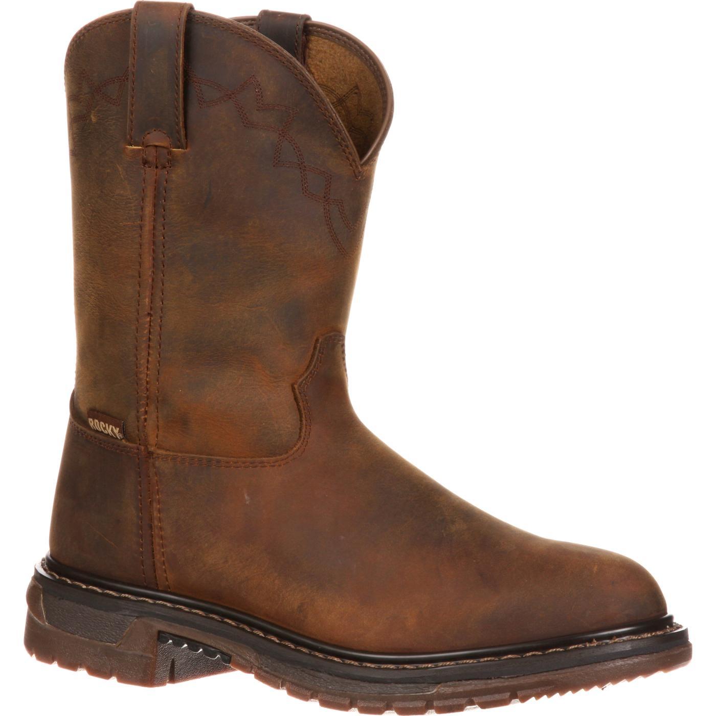 Rocky Men S Original Ride Roper Western Boot Style 1108