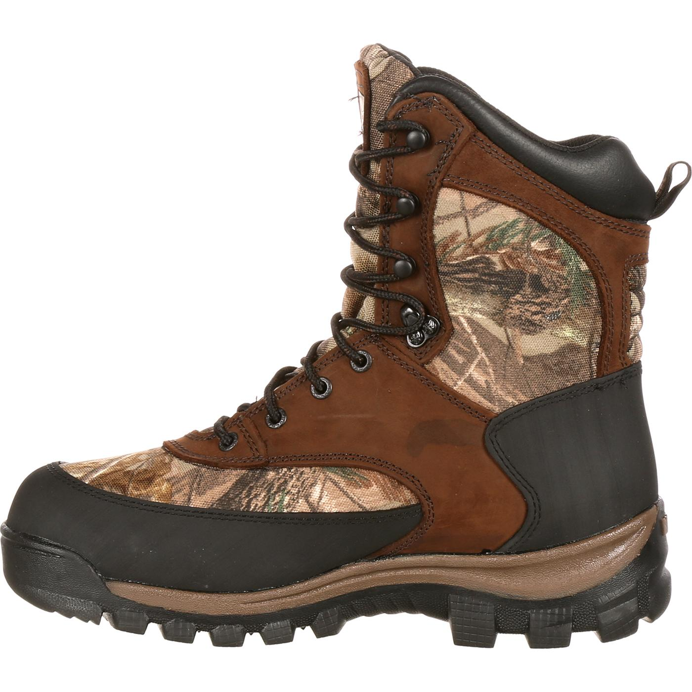 Rocky Core Waterproof Insulated Camo Outdoor Boots, #4754