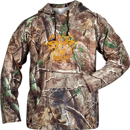 Rocky Athletic Mobility Logo Hoodie, Realtree AP, large