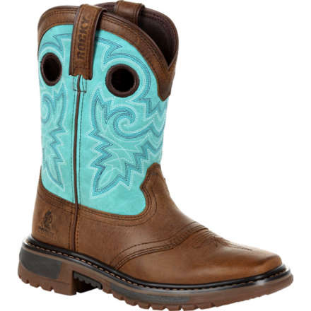 Rocky Kid's Original Ride FLX Western Boot, , large
