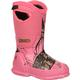 Rocky Core Big Kids' Pink Camo Waterproof 400G Insulated Rubber Boot, , small