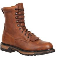 Rocky Original Ride Steel Toe Western Lacers, , medium