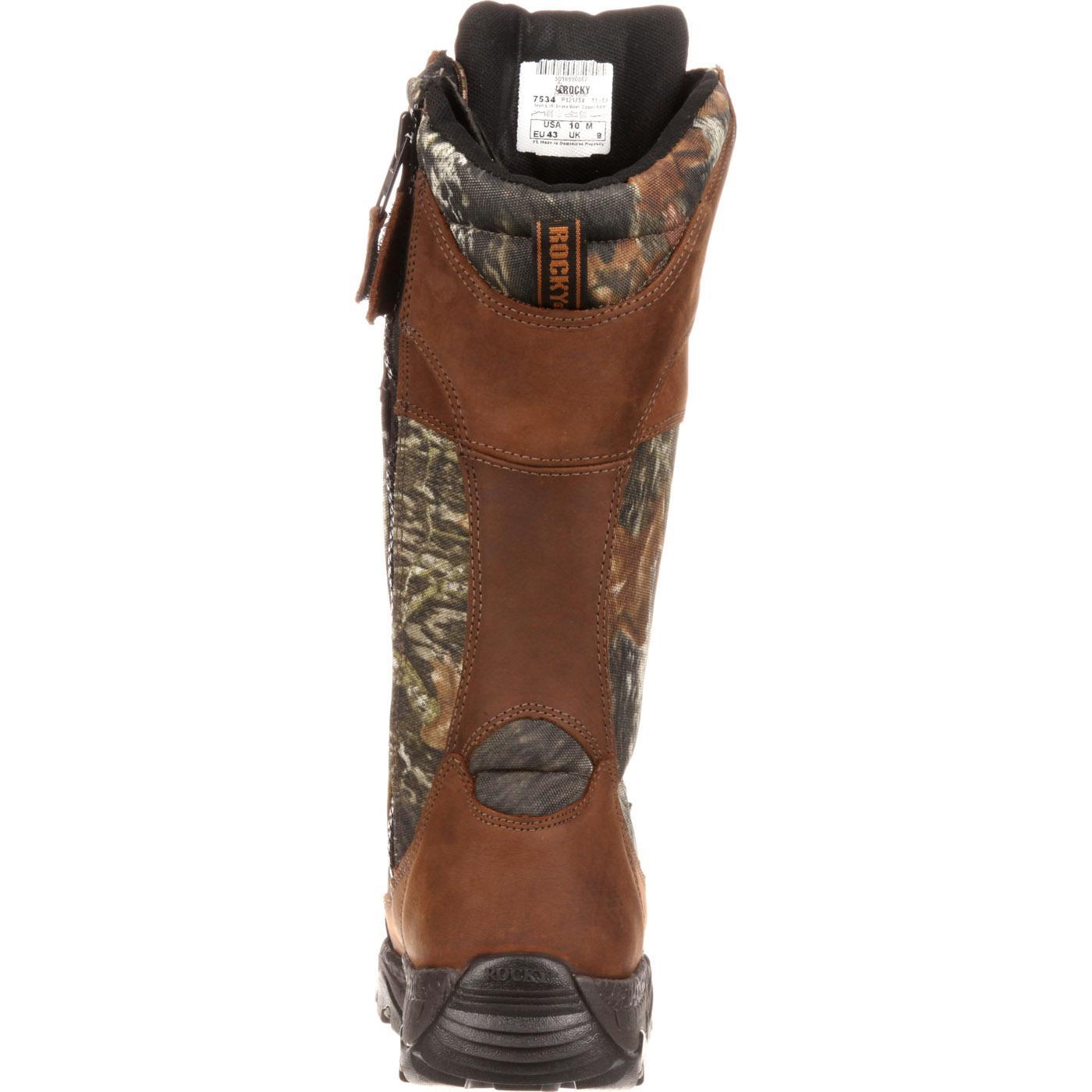 3f6bccf41d3 Rocky Classic Lynx Waterproof Side-Zip Snake Boot
