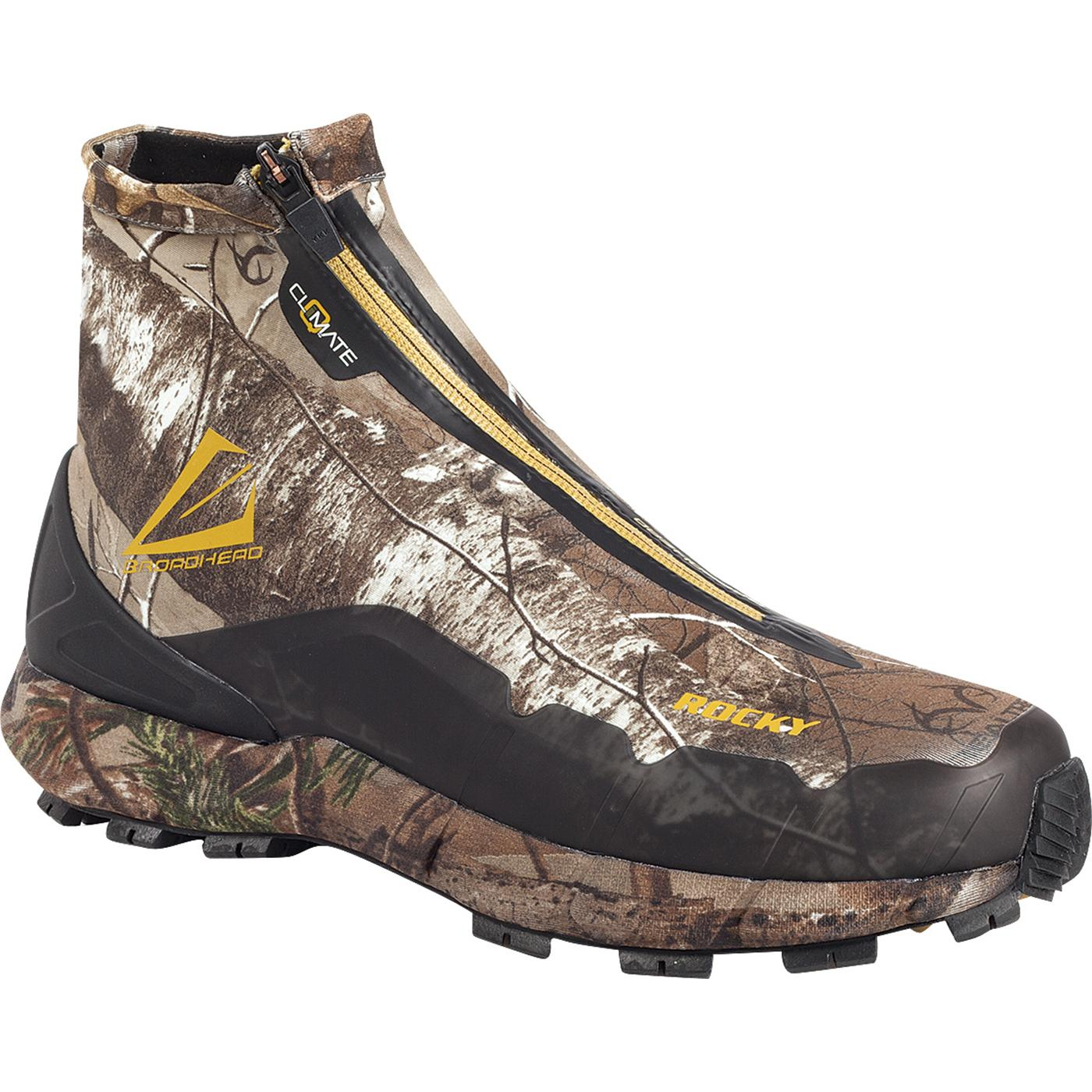 rocky broadhead realtree athletic hiking shoes