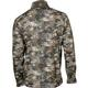 Rocky Camo Fleece Zip Shirt, Rocky Venator Camo, small