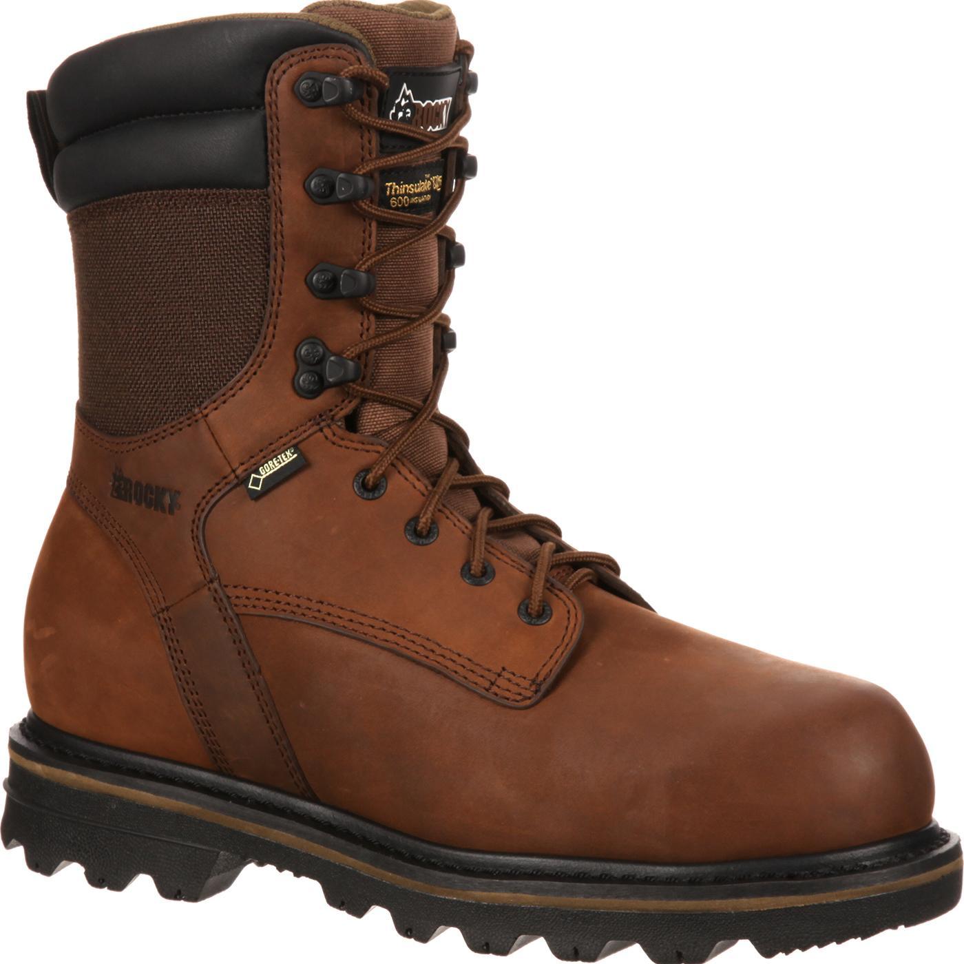 Rocky Cornstalker Safety Toe Waterproof Insulated Work Boot