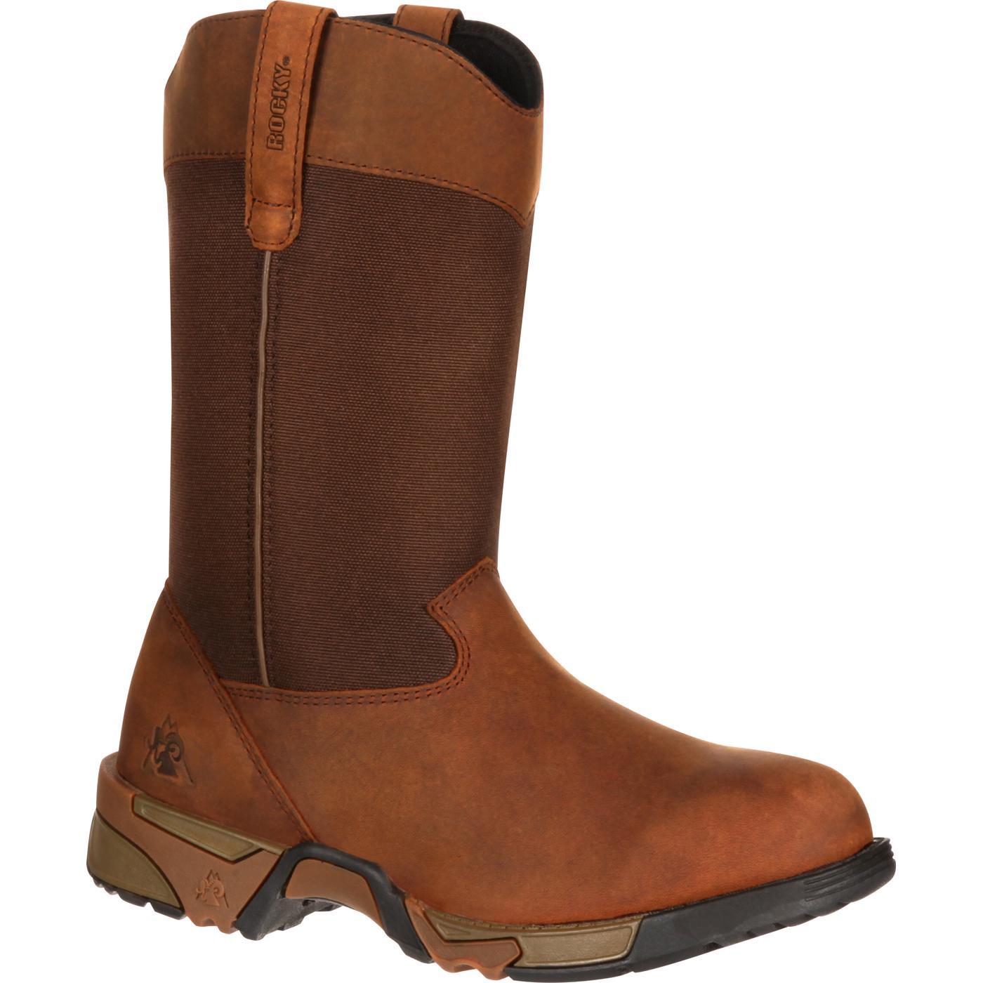 6030edfdbb7 Rocky Aztec Women's Steel Toe Pull-on Boot