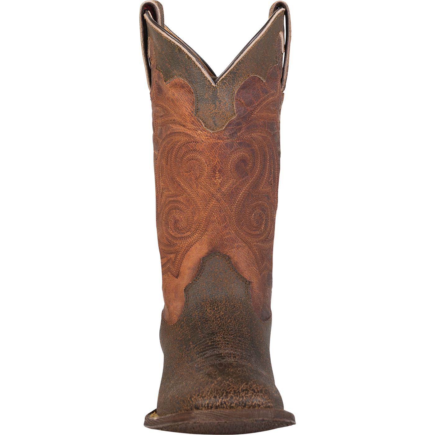 9b00d0ef71c Rocky HandHewn Square Toe Western Boot