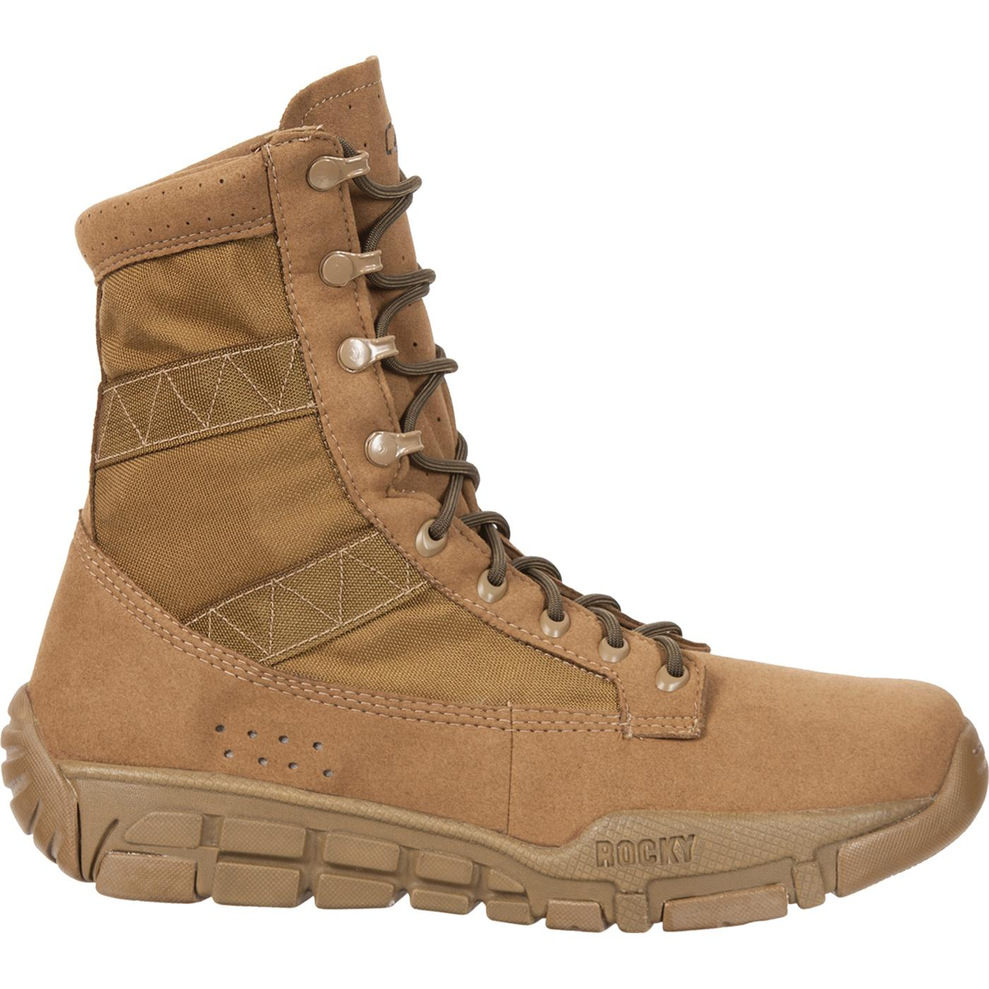 Rocky C4T Trainer Military Duty Boots, style #FQ0001074