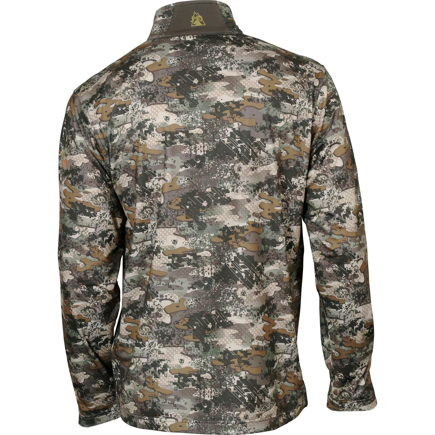 23523a29bc6de Rocky Camo Men's Fleece 1/4 Zip Shirt - HW00160