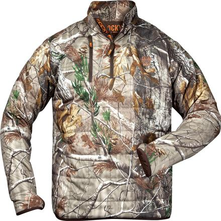 Rocky Athletic Mobility Midweight Level 2 1/4 Zip Jacket, Realtree AP, large