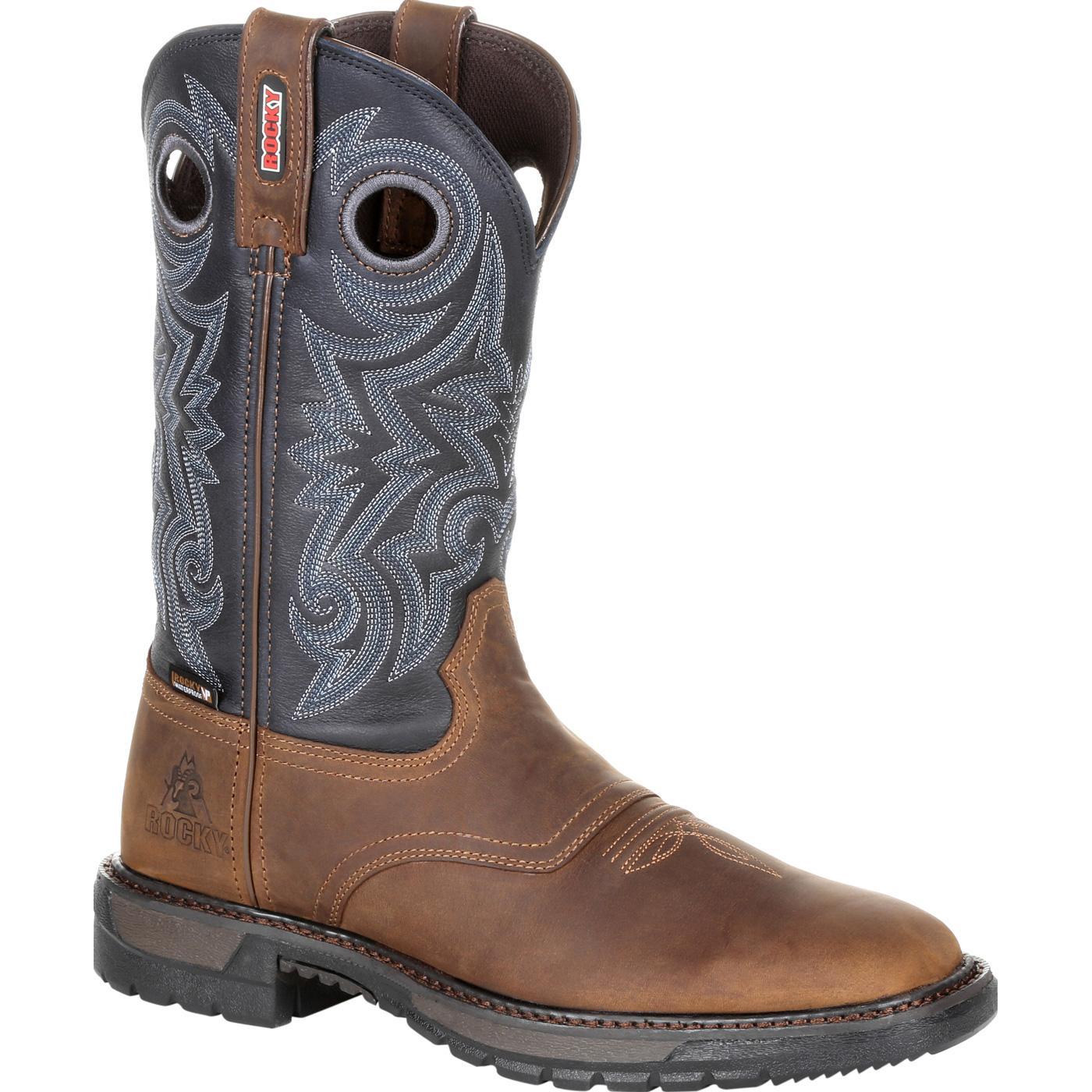 8f1f4f5c64e Rocky Original Ride FLX Waterproof Western Boot