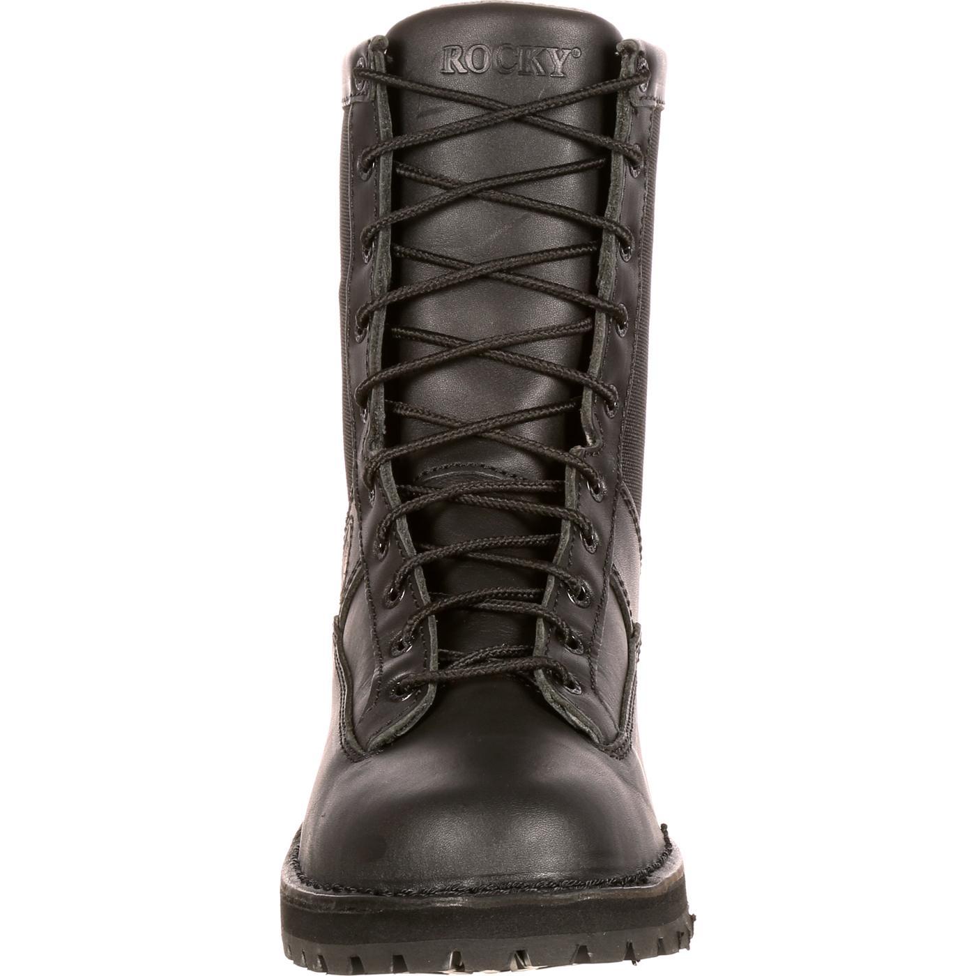 53a8c070d11 Rocky Portland Lace-to-Toe Waterproof Public Service Boots