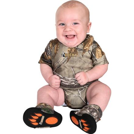 Rocky SilentHunter Baby Camo Onesie, Rltre Xtra, large