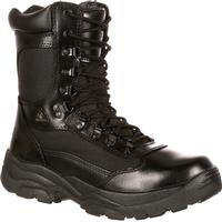 Rocky Fort Hood Zipper Waterproof Public Service Boot, , medium