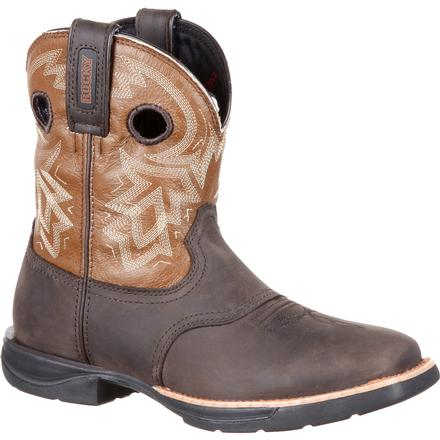 Rocky LT Women's Waterproof Saddle Western Boot, , large