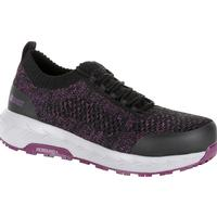 Rocky Women's WorkKnit LX Alloy Toe Athletic Work Shoe, , medium