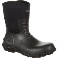 Rocky Core Chore Black Rubber Outdoor Boot, , medium