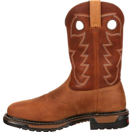 Rocky Original Ride Steel Toe Waterproof Western Boot, , large