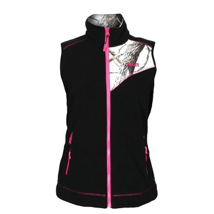 Rocky Women's Full Zip Fleece Vest, SNO, large