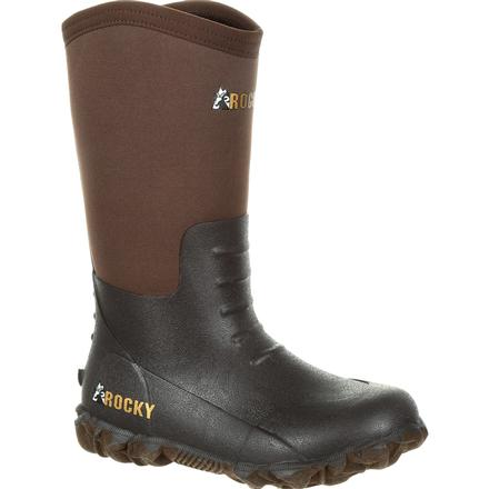 Rocky Kids' Core Rubber Outdoor Boot, , large